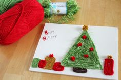 Christmas Pictures with Yarn...love this idea of using yarn to make pictures and shapes. Could also use for letters, sight words, possibilities are endless!