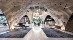 """PRODUCE Workshop's """"Fabricwood"""" Named World's Best Interior of 2017"""