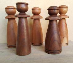 Handmade Wood Turned Angel Figure by jasonprigmore on Etsy