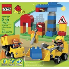 LEGO duplo Construction Site 10518- Christmas 2014-Grant