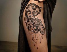Lace-Tattoo