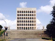 Palazzo Della Civiltà Italiana • E. Lapadula, G. Guerrini, M. Romano