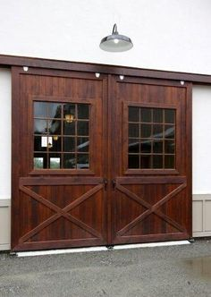 I want a studio separate from my house with doors like this to keep open on beautiful days while working