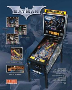 Batman Dark Knight pinball machine
