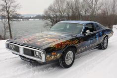 1974 Dodge Charger w/ VERY custom paint ✏✏✏✏✏✏✏✏✏✏✏✏✏✏✏✏ IDEE CADEAU / CUTE GIFT IDEA  ☞ http://gabyfeeriefr.tumblr.com/archive ✏✏✏✏✏✏✏✏✏✏✏✏✏✏✏✏