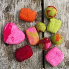 Felted soap tutorial.