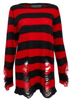 Krueger Distressed Knit Sweater