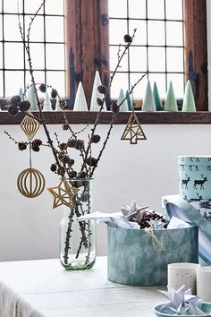 Welcome to Kronborg Castle, where Anna and Clara have decorated the interior for a magical Christmas season // Christmas decoration and gift ideas // Søstrene Grenes Christmas Catalogue 201