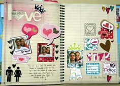 "Inspiration -- A Cute ""Love"" Spread"