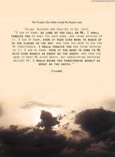 Allah forgives.