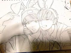 best fanart everr (jungkook&v)
