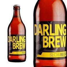 Darling Brew Slow Beer - League of Beers Beer Bottle, Whiskey Bottle, African Crafts, Craft Beer, Brewing, Drinks, Drinking, Beverages, Drink