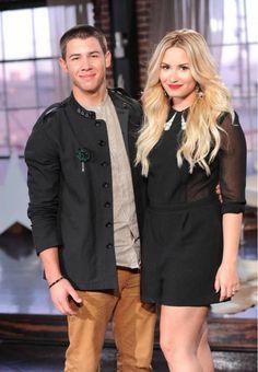 Demi Lovato and Nick Jonas
