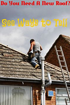 How to tell if you need a new roof: http://www.maxrealestateexposure.com/tell-need-new-roof/