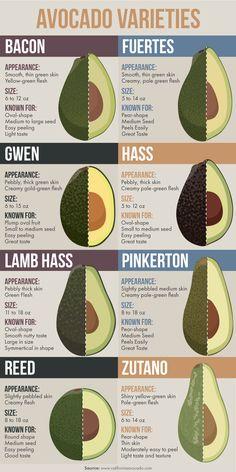 Different Avocado Varieties PLUS a refreshing Avocado and Watermelon Salad!