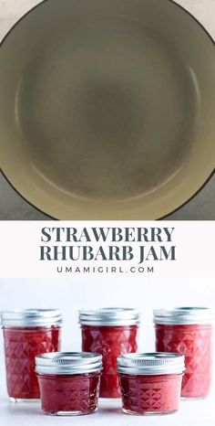 Jam Recipes, Canning Recipes, Sweet Recipes, Strawberry Rhubarb Jam, Yummy Taco, Nutritious Breakfast, Homemade Soup, Fabulous Foods, Unique Recipes