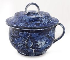 Lot: Historical blue Staffordshire Lafayette at Frank, Lot Number: 0005, Starting Bid: $500, Auctioneer: Pook & Pook, Inc., Auction: Historical Blue Staffordshire, Date: October 10th, 2013 EDT