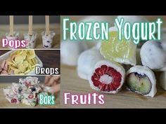 Hier seht ihr 6 echt leckere und sehr gesunde Frozen Yogurt Ideen. Schnell gemacht und so gesund, dass auch die ganz Kleinen naschen dürfen. mamiblock auf fa...