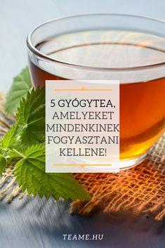 Egy lista az 5 legfontosabb gyógyteákról, és azok hatásairól. Tea Blog, Citronella, Candle Jars, Alcoholic Drinks, Wine, Glass, Food, Drinkware, Corning Glass