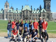 A trip to Eastern Ontario is among the many highlights of Columbia's summer camp program. Filled with history and culture, the eastern part of the province boasts a beautiful landscape and distinct attractions, notably Canada's Parliament buildings. Canada Summer, Discover Canada, Ottawa Ontario, The Province, Beautiful Landscapes, Barcelona Cathedral, Camping, Fun, Fin Fun