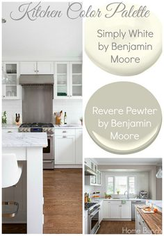 320 Sycamore S Kitchen White Dove Cabs Revere Pewter