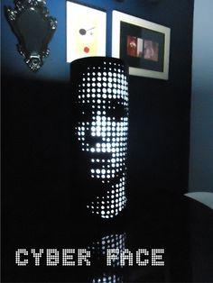 Luminária PVC