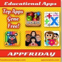16 Free Fun Educational App for Kids - #APFPRIDAY - AppStarPicks - Best Apps for Kids