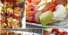 Gyakran készítek rablóhúst,gombát,cukkinit,hagymát,paprikát rakok az épp olyan hús mellé,ami van otthon.A felső képen csirkehús volt és ben... Fruit Salad, Cobb Salad, Hungarian Recipes, Barbecue, Wok, Potato Salad, Bacon, Grilling, Food And Drink