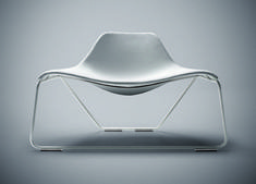 Monica Förster Design Studio, GLIDE Lounge chair, Tacchini, 2006