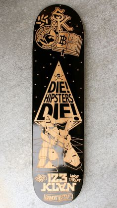 Carved Skateboards By 123KLAN