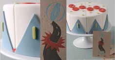 Dining Room, : Food design modern goemetriche, graphics, cakes1