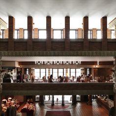 * 旧帝国ホテル本館 Wright's Imperial Hotel #フランクロイドライト #FrankLloydWright * Taken with Canon EOS 5D Mark Ⅲ Canon EF14mm F2.8L II USM #Padgram