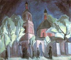 Ilya Obydensky Church by Robert Falk