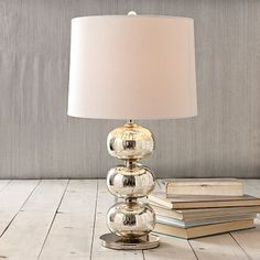 Abacus Table Lamp - Mercury #WestElm  own this in bedroom get another one - mercury table lamp 170 west elm nikki haley