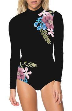 Women's O'Neill Glamour Long Sleeve Swimsuit