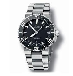Oris Aquis Date Divers Bracelet Watch