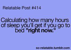 every night we can't sleep