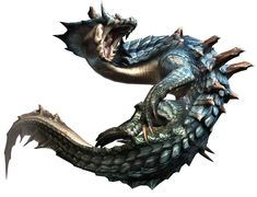 Lagiacrus from Monster Hunter 3 (tri-)