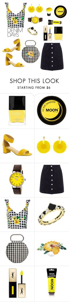 Untitled #1027 by siriusfun on Polyvore featuring Sans Souci, Franco Sarto, Forever 21, YES, Dsquared2, Oscar de la Renta, Crayo, John Lewis and Butter London