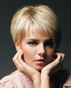 Damendrisuren short hairstyle