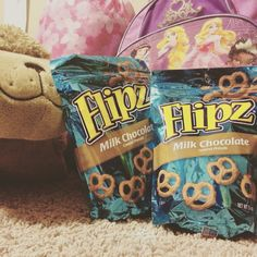 Getting ready for a Girl Scout movie night with yummy FLIPZ chocolate covered pretzels! (I received free product in exchange for feedback.)