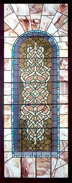Victorian Stained Glass Window AE335