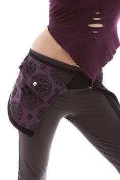 MANDALA POCKET BELT psy pocket belt pixie pocketbelt by AltshopUK