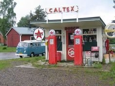 .Gas station and VW