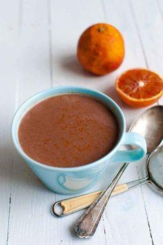 Appelsiinikaakao on tuhtia, paksua ja ihanaa. Kuuma kaakao kuuluu talveen! #kaakao #suklaa #kuumakaakao #kuumajuoma