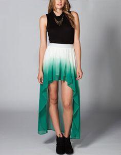 $29 FULL TILT Ombre Hi Low Skirt