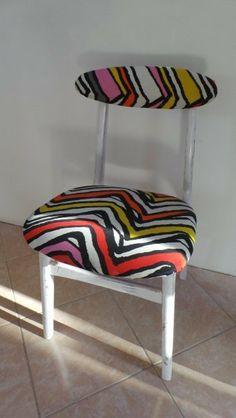Krzesło pasy w Inesdecoria- Studio dekoracji Wnętrz na DaWanda.com