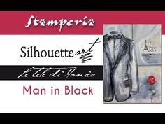 How to create, step by step, a real masterpiece with Monica Paruta's tutorial and her new line of rice paper napkins produced by Stamperia The Dancer, Singing In The Rain, Rice Paper, Mixed Media Canvas, Canvases, Black Men, Decoupage, Scrap, Silhouette