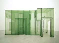 Do-Ho Suh Installation, Space