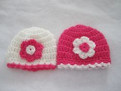 Crochet Preemie Baby Hats – Free Crochet Pattern | Crochet Baby